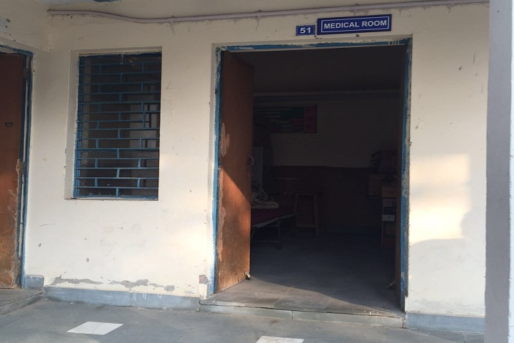 Air Force Sr Sec School-Medical room