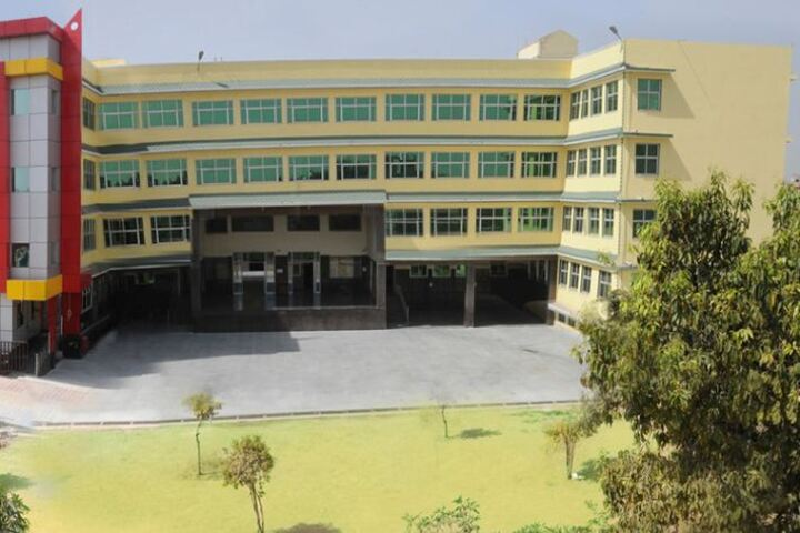 Akash Model School-Campus View