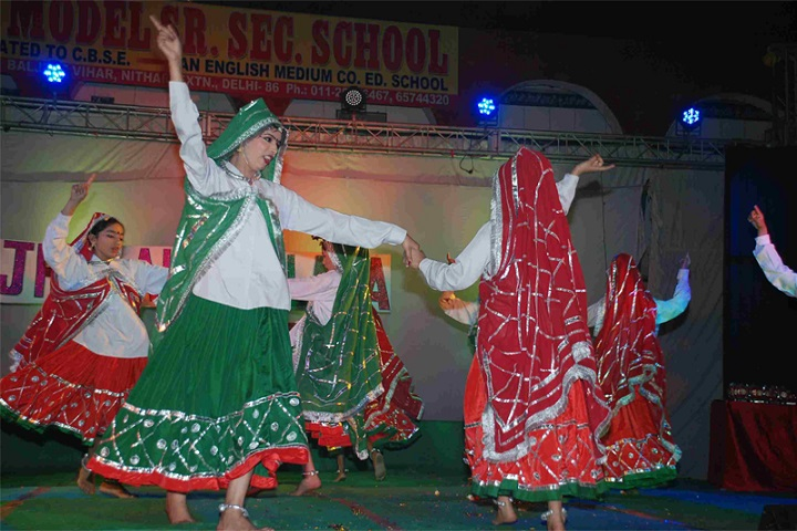Akash Model School-Dance Performance