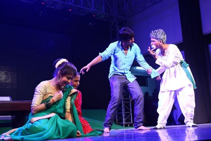 Akash Model School-Drama Performance