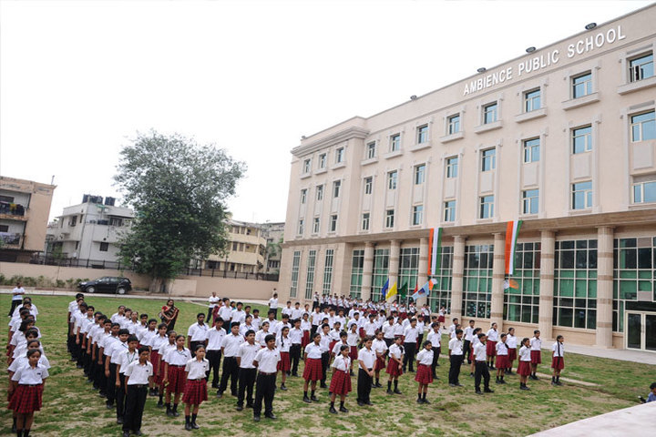 Ambience Public School-Assembly