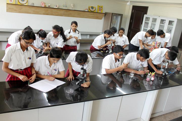Ambience Public School-Biology Lab