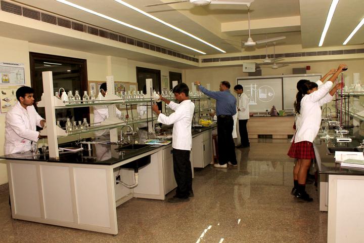 Ambience Public School-Chemistry-Lab