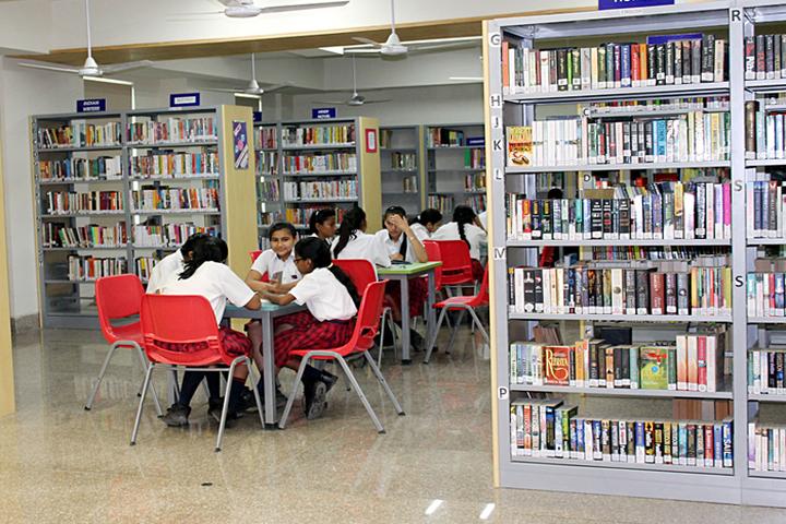 Ambience Public School-Library