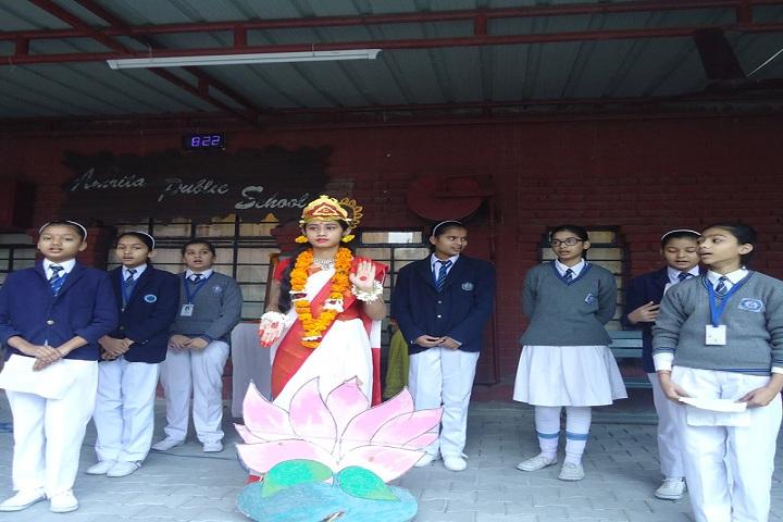 Amrita Public School-Saraswathi Day Celebrations