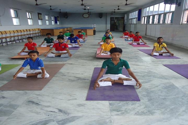 Amrita Public School-Yoga Classes