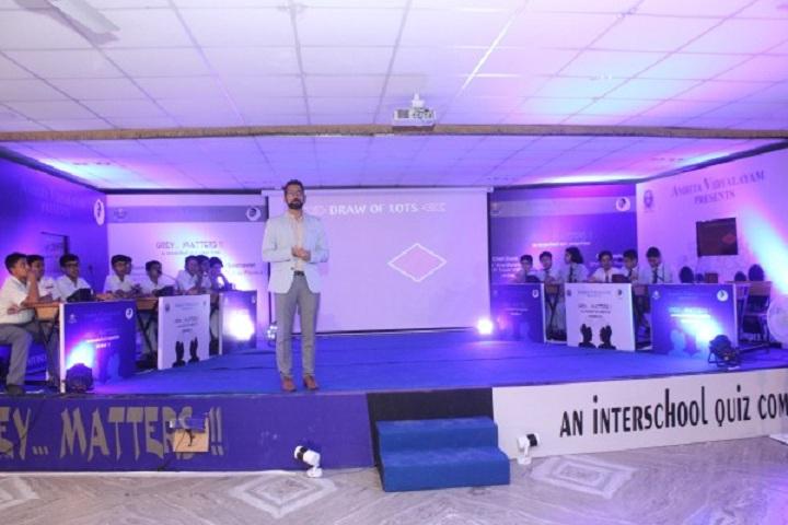 Amrita Vidyalayam-Inter Quiz Competition
