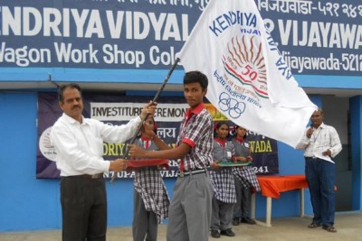 Kendriya Vidyalaya - Investiture Ceremony