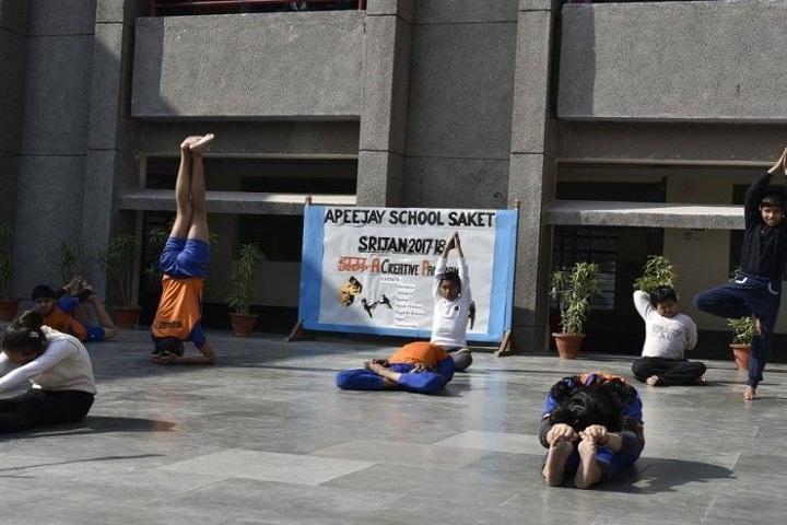 Apeejay School Saket-Yoga