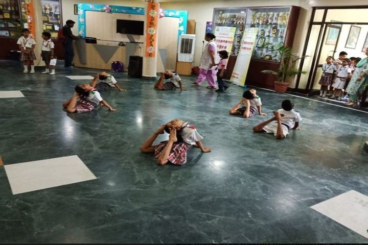 Arwachin International School-Yoga Day