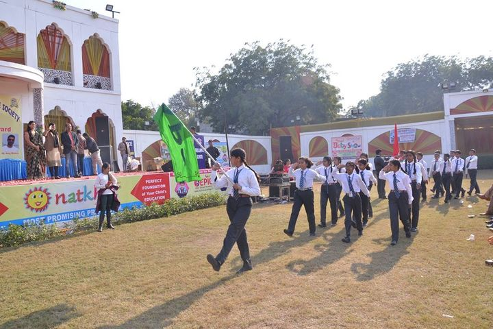 Aryaman Public School-March Past
