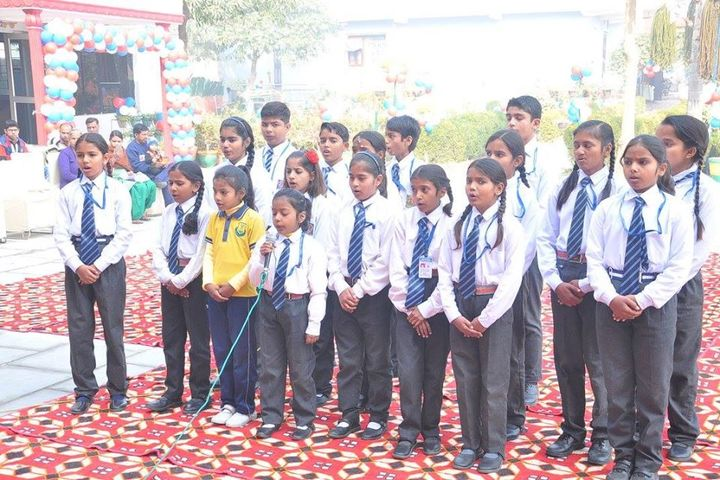 Aryaman Public School-Singing