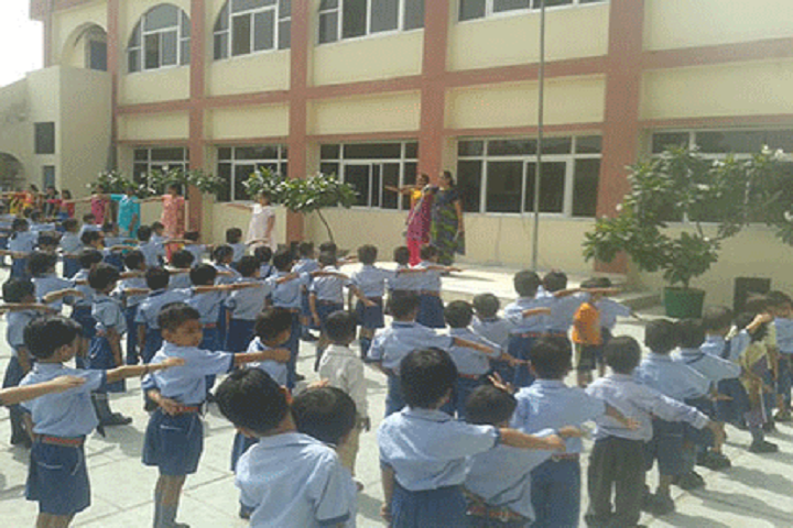 Aryaman Public School-Assembly