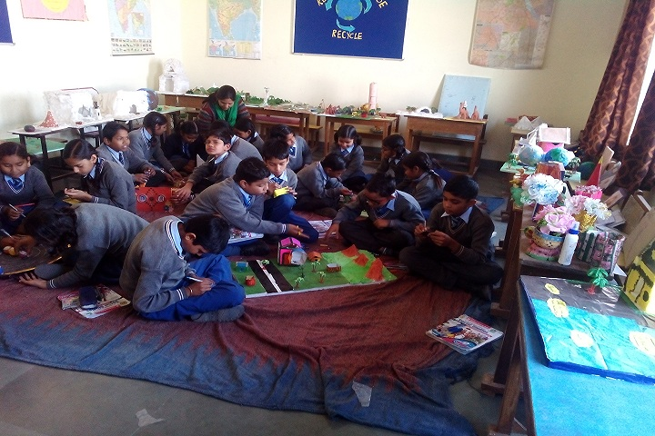 Aryaman Public School-Class Activities