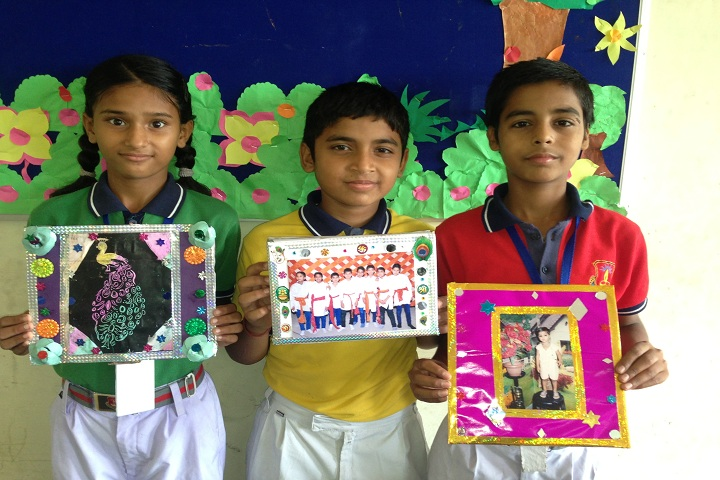 Aryaman Public School-Photo frame competition