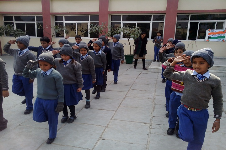 Aryaman Public School-Republic Day
