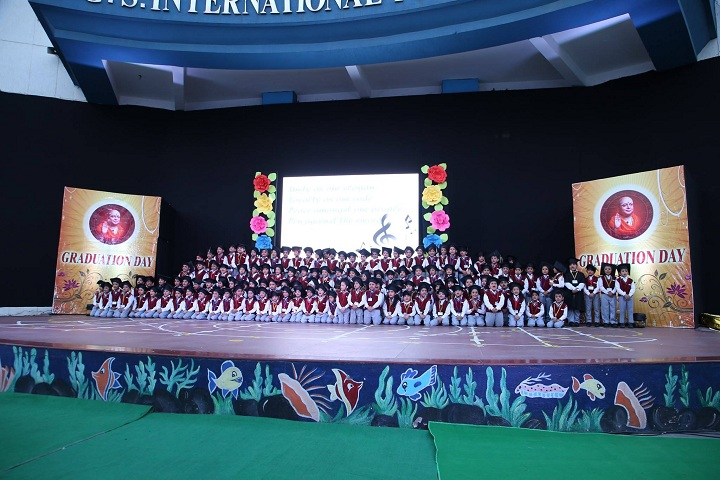 B G S International Public School-Graduation Day