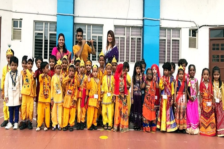 B G S International Public School-Krishnastami Celebrations