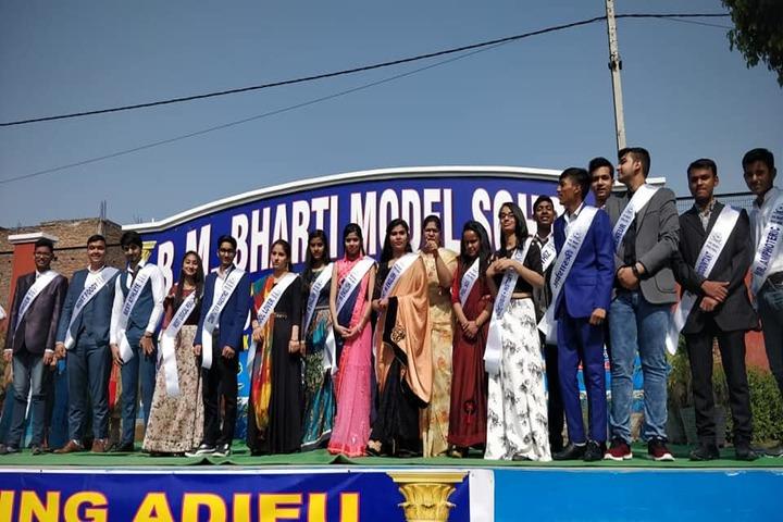 B M Bharti Model School-Investiture Ceremony