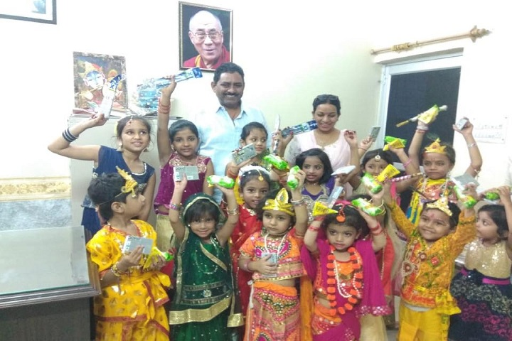 BVM Model Senior Secondary School-Krishnastami Celebrations