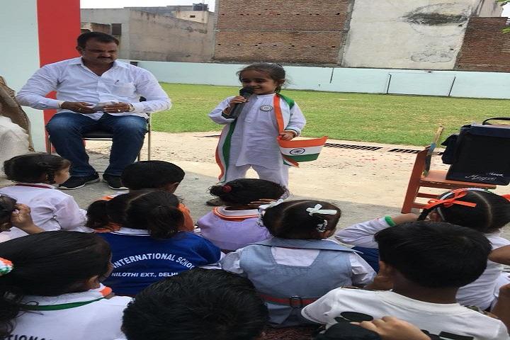 B S  International School-Independence Day