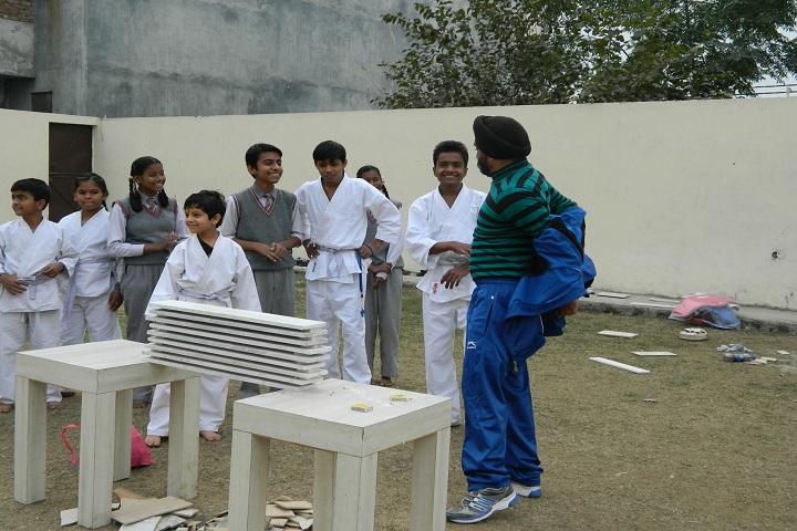 B S  International School-Karate