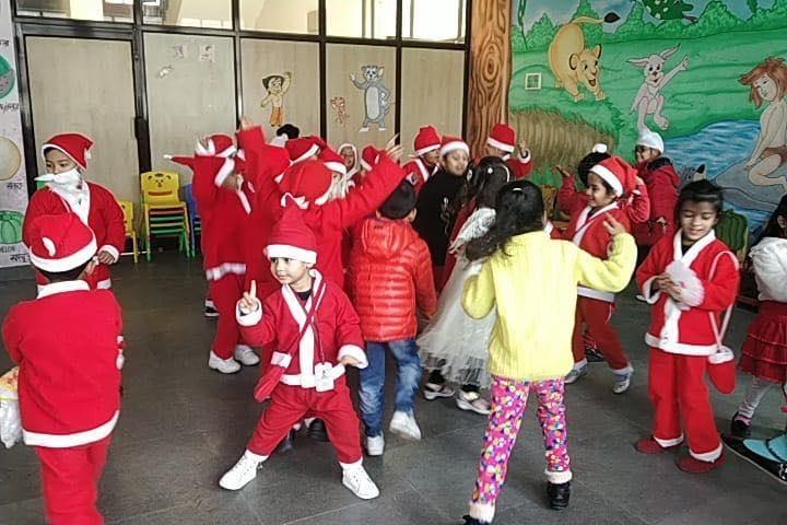 B S International School-Chritmas Celebrations