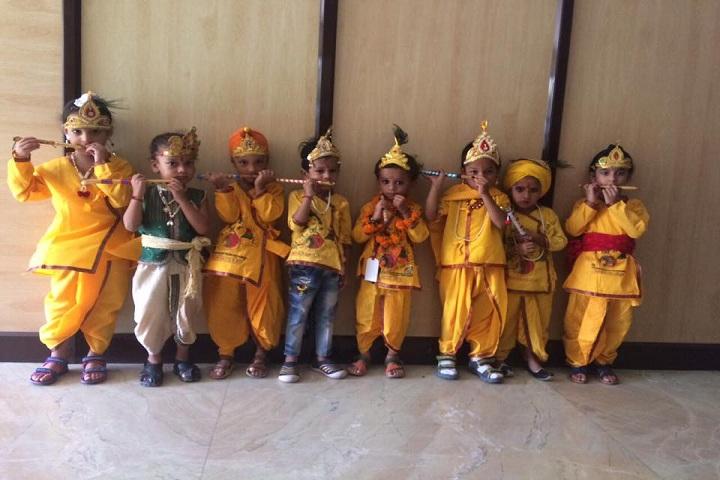 B S International School-Krishnastami Celebrations