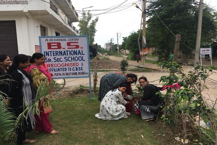 B S International School-Plant a Tree