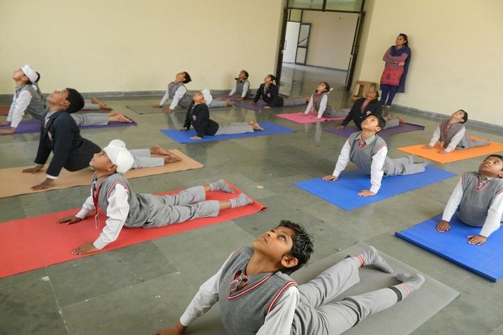 B S International School-Yoga