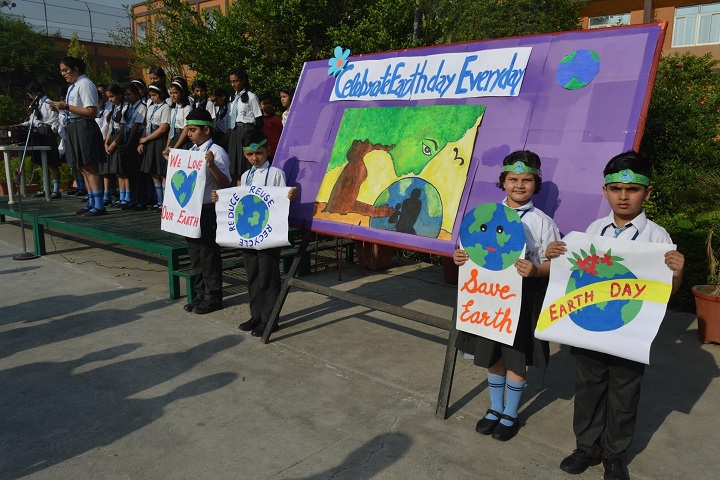 B V M Public School-Earth Day Celebration
