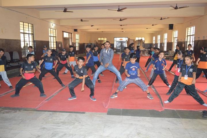 B V M Public School-Karate Class