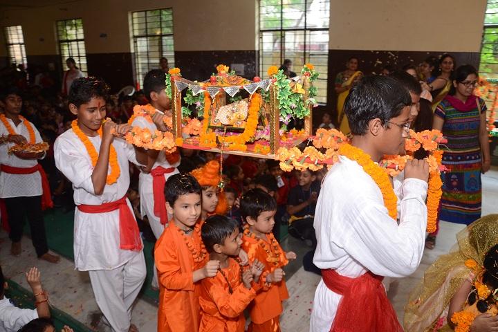 B V M Public School-Krishna Janmasthmi Celebration