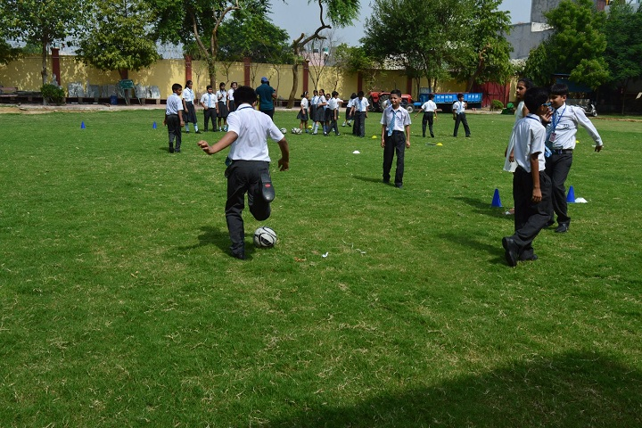 B V M Public School-Play Ground