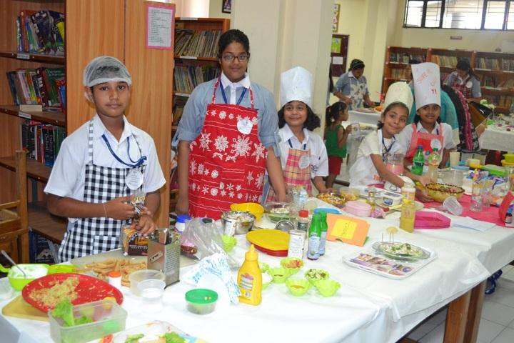 Bal Bharati Public School-Healthy Cooking