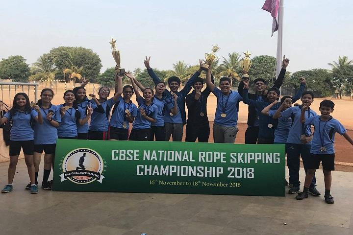 Bal Bharati Public School-Rope Championship