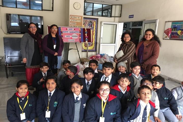 Bal Bharati Public School-Donation Drive
