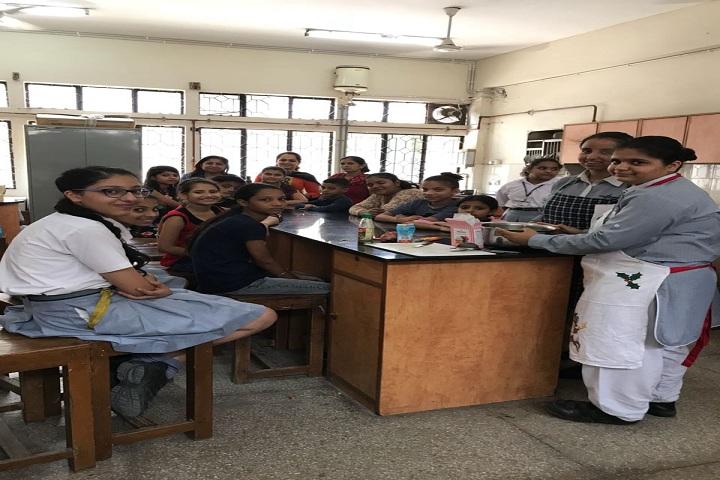 Bal Bharati Public School-Food Making Activity