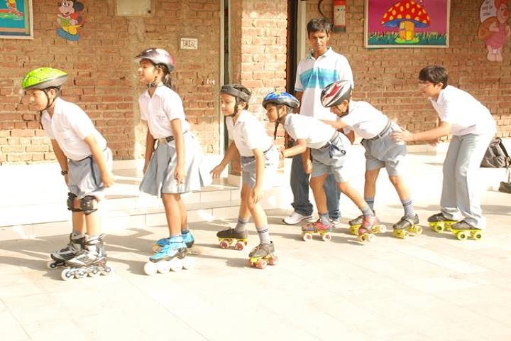 Bal Bharati Public School-Skating