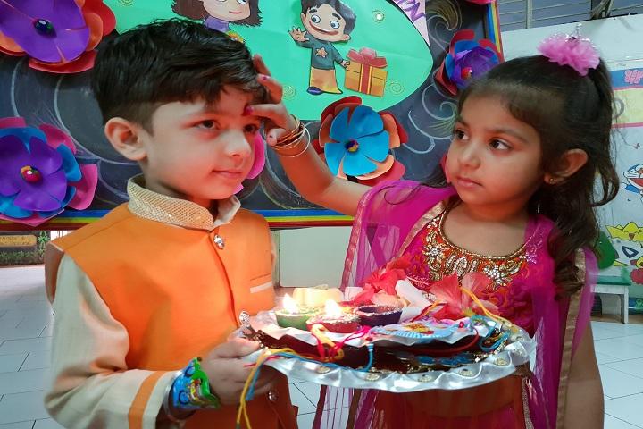Bal Bhavan International School-Rakhi Celebrations