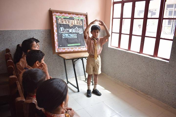 Bal Mandir Senior Secondary School-Kiterary Club