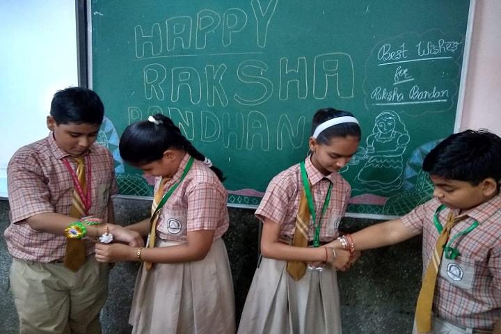 Bal Mandir Senior Secondary School-Raksha Bandhan Celevrations