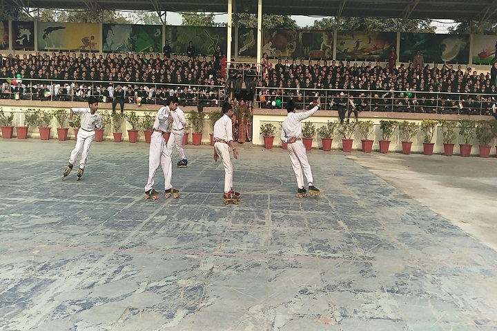 Bal Mandir Senior Secondary School-Skating