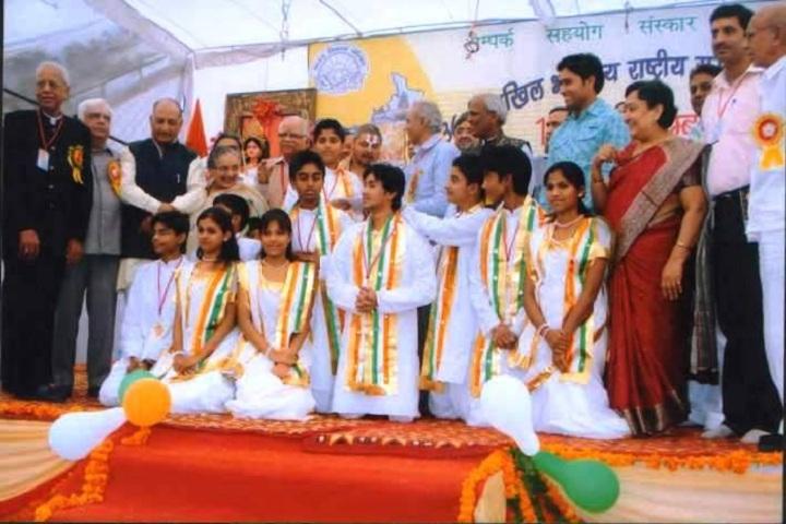 Balvantray Mehta Anguri Devi Shersingh Memorial Academy-Independence day