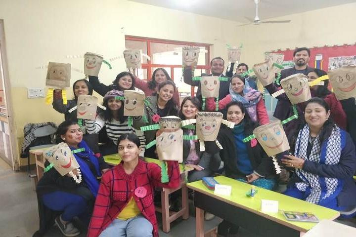 Basava international School-Funny activities