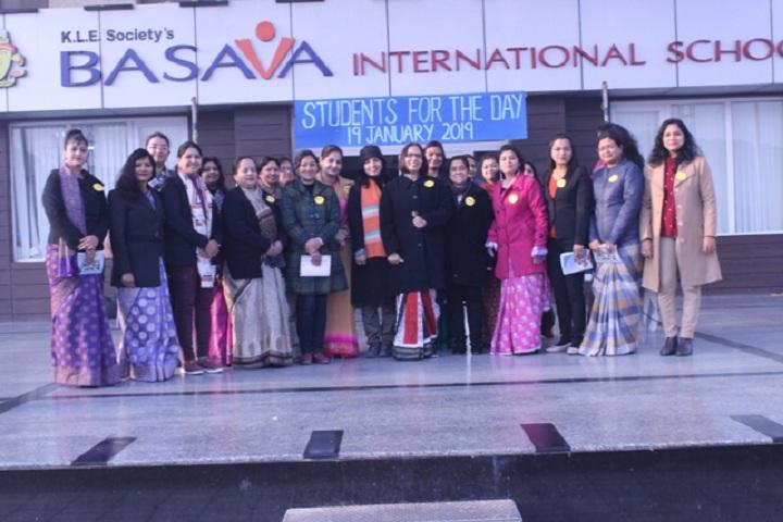 Basava international School-Student day celebrations