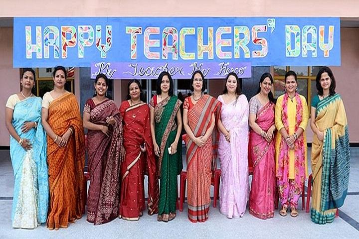 Basava international School-Teachers day celebrations