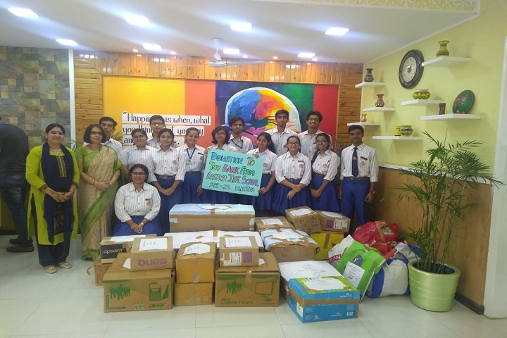 Basava international School-Toy collection drive