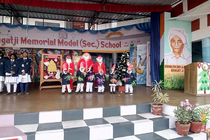 Bhagati Ji Memorial Model School-Christmas celebrations