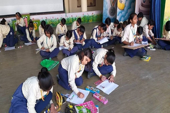 Bhagati Ji Memorial Model School-Drawing competition